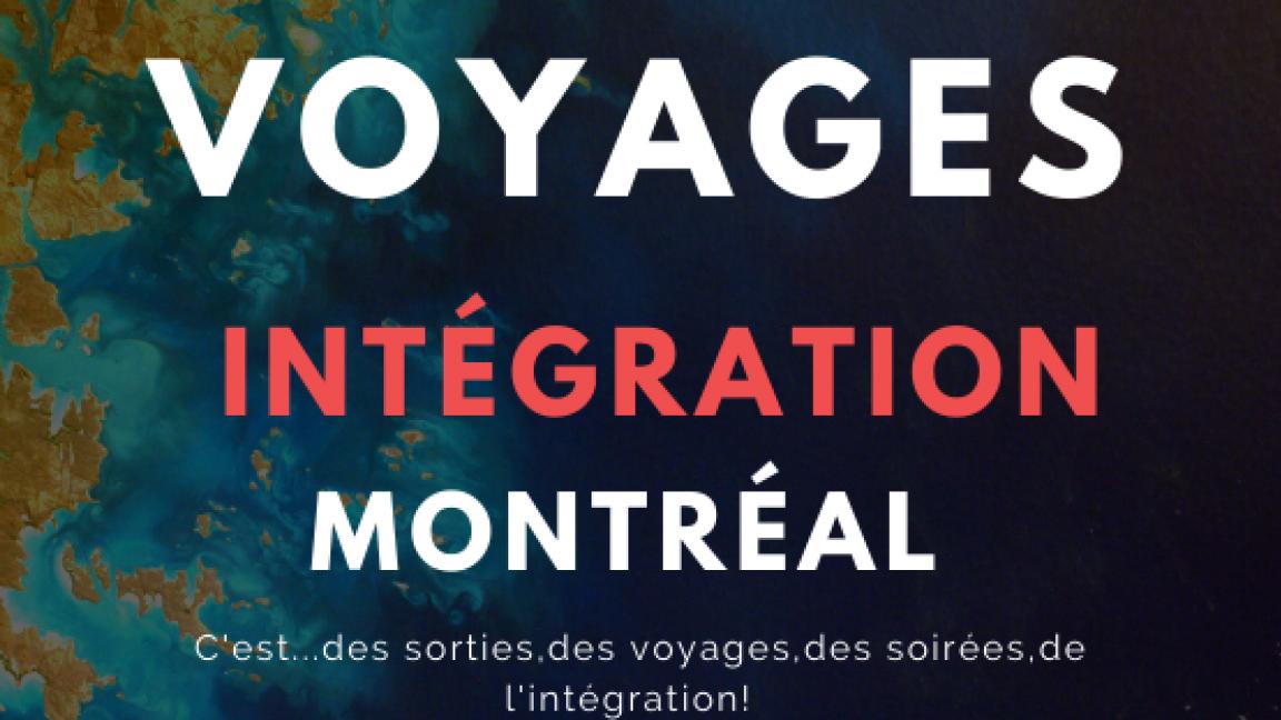 Voyages Intégration Montréal