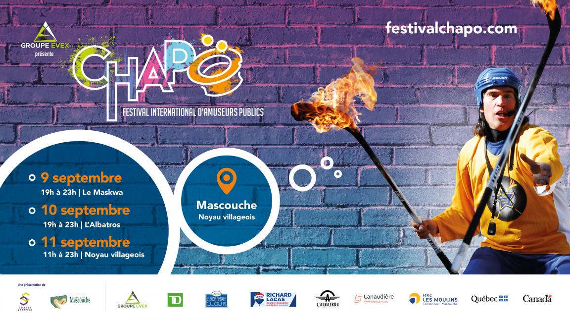 CHAPO-Festival international d'amuseurs publics