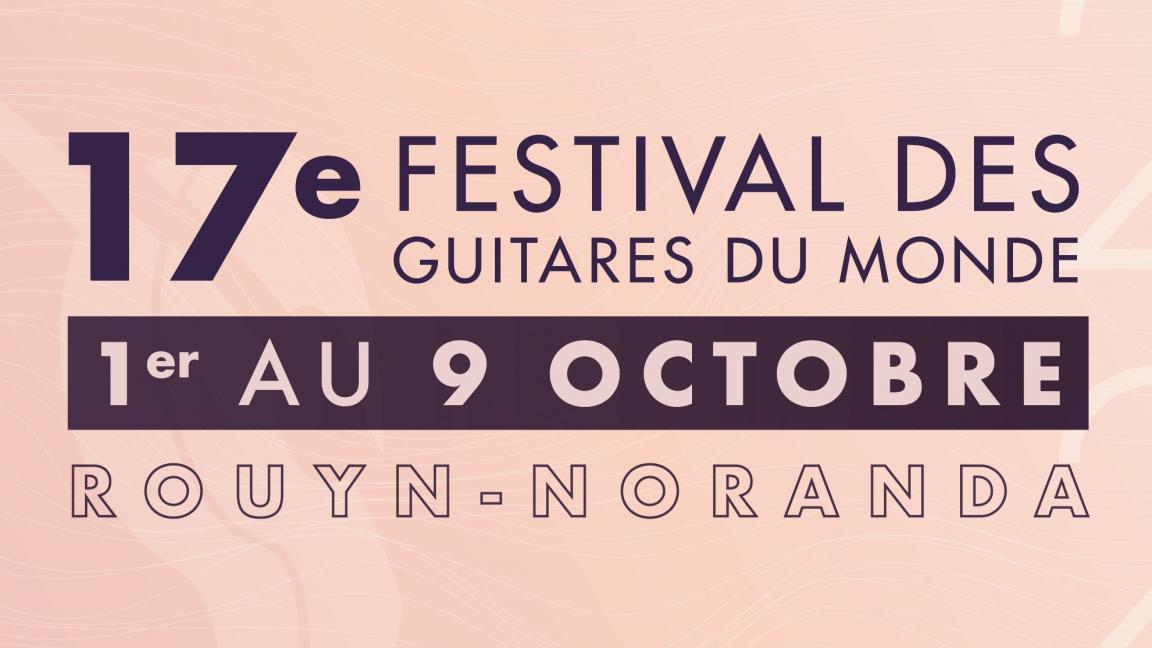 Festival des Guitares du Monde 2021
