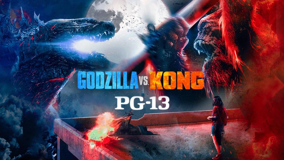 Godzilla VS Kong - Générale Déconseiller au Jeune Enfant