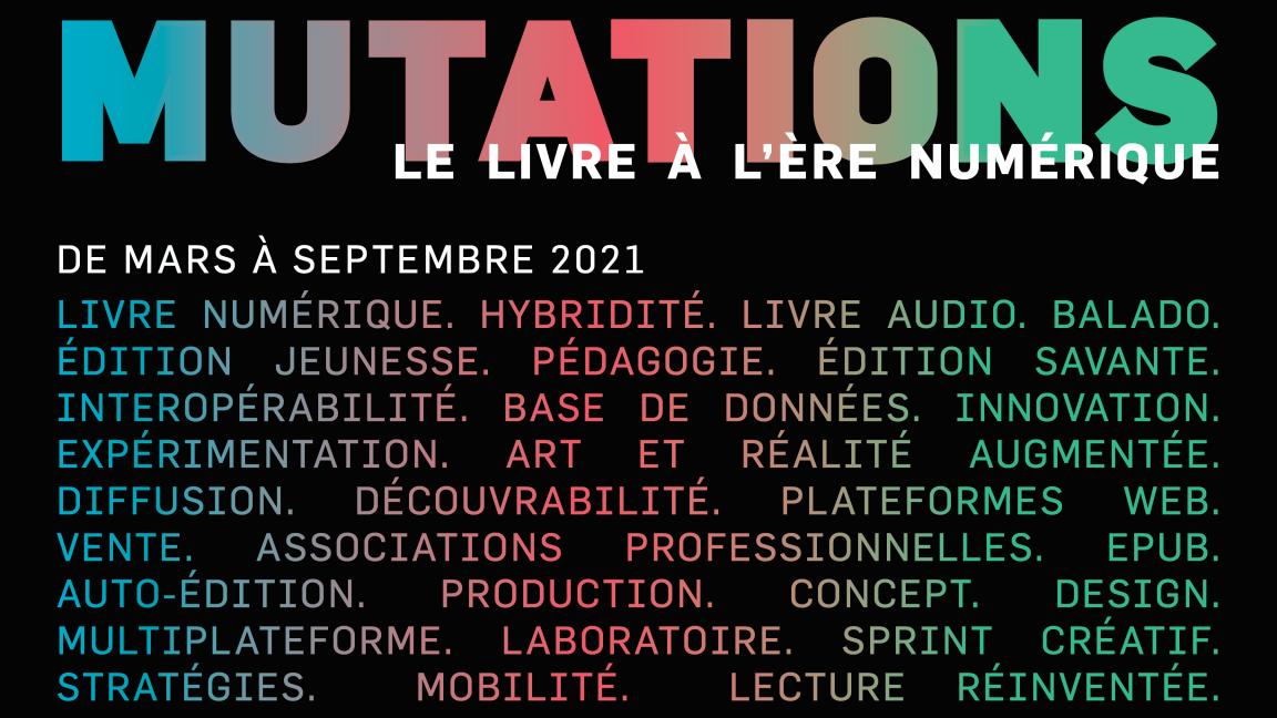 Mutations - Le livre à l'ère numérique