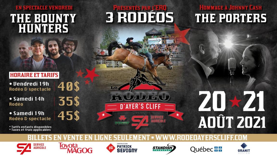 Rodéo & The Bounty Hunters, Vendredi 20 août, 19h