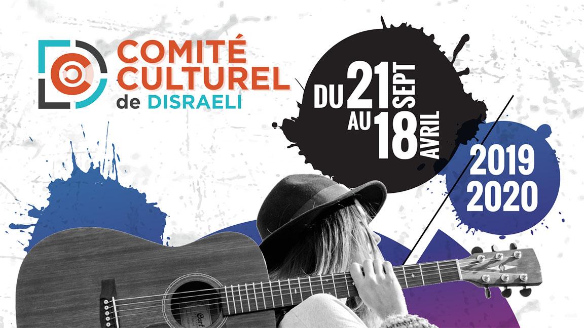 Comité Culturel de Disraeli: Saison 2019-2020