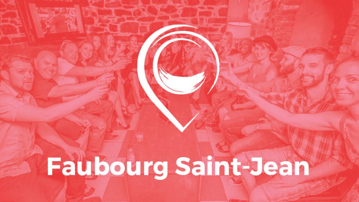Parcours Faubourg Saint-Jean