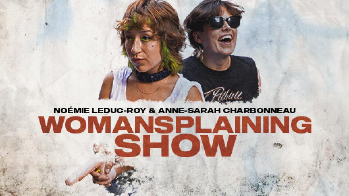 Womansplaining show