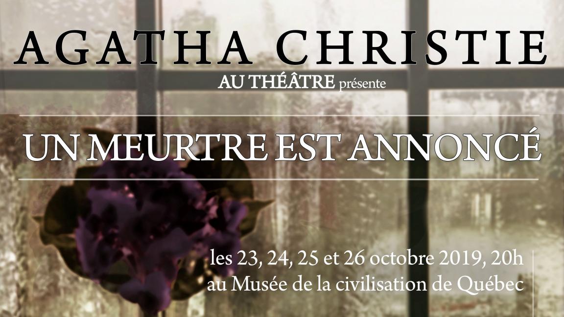 Agatha Christie au théâtre : Un meurtre est annoncé