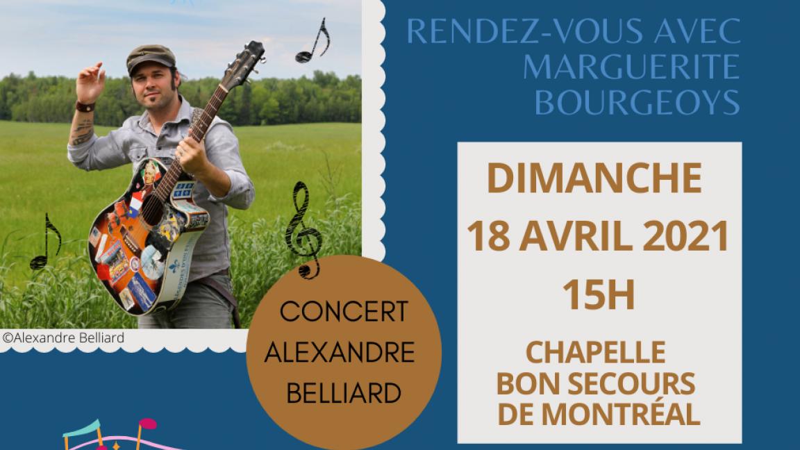 Alexandre Belliard en concert en hommage à Marguerite Bourgeoys