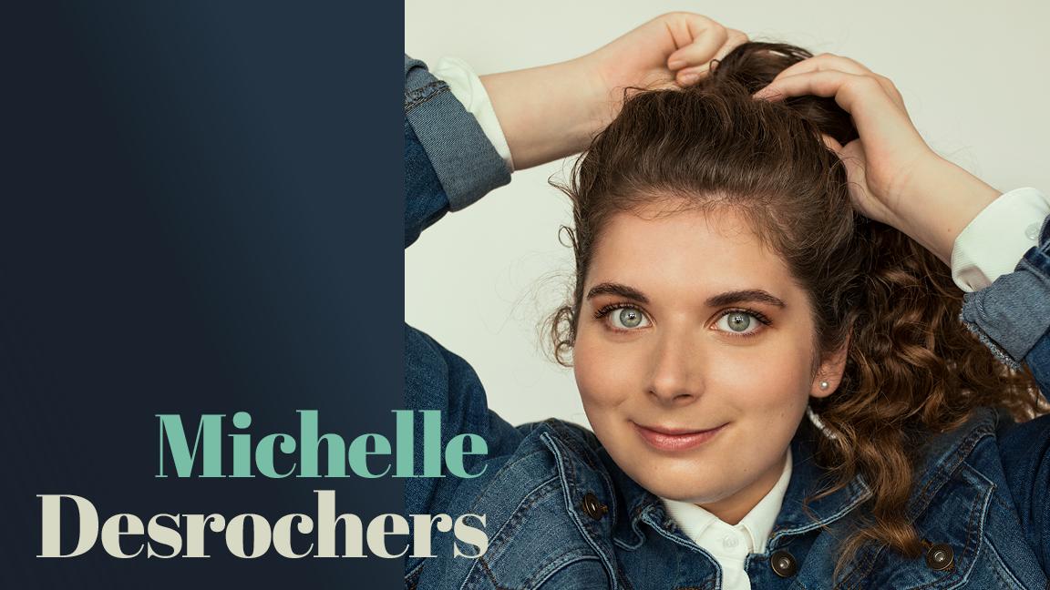 Michelle Desrochers en rodage