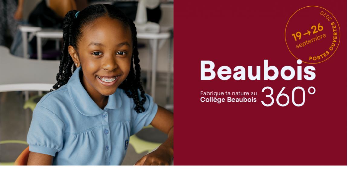 Portes ouvertes Collège Beaubois - Visites VIP 2020