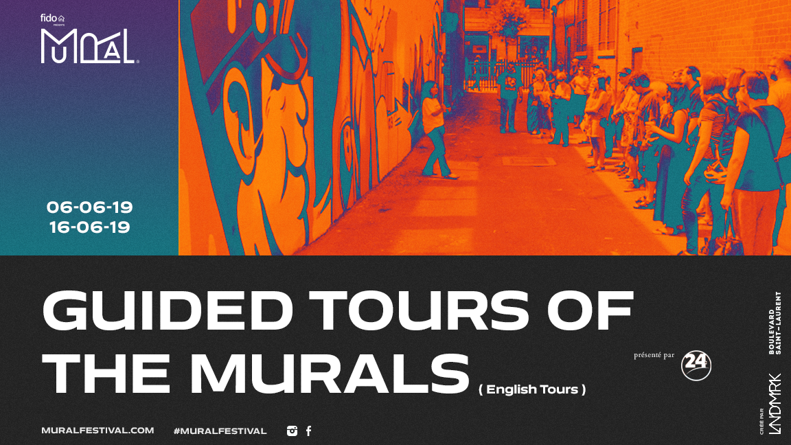 Guided Tours of The Murals 2019 (English Tours)