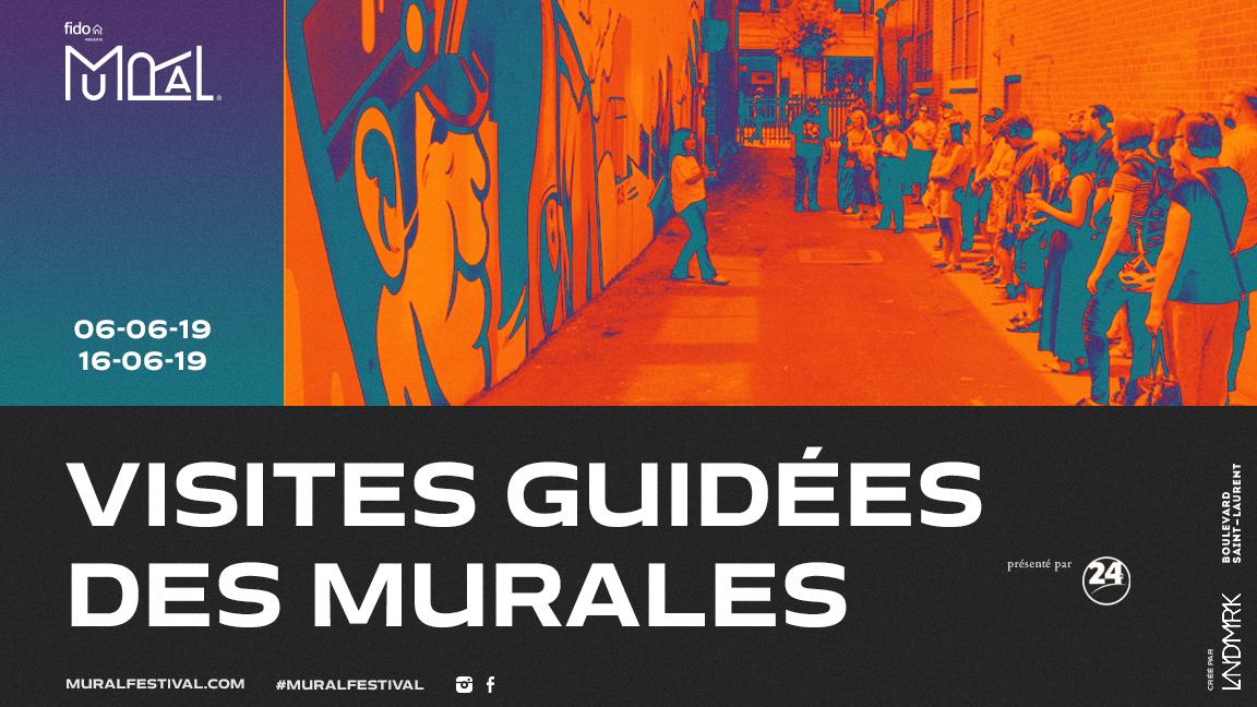 Visites guidées des Murales 2019