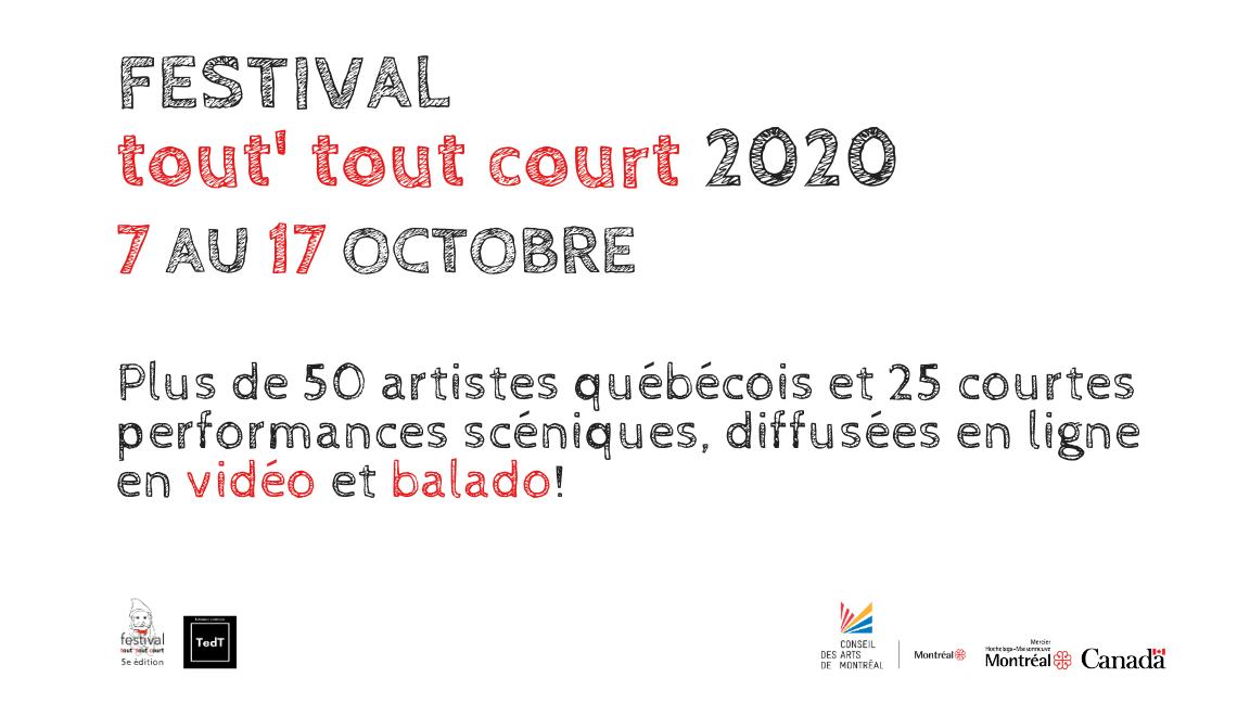 Festival tout' tout court 2020
