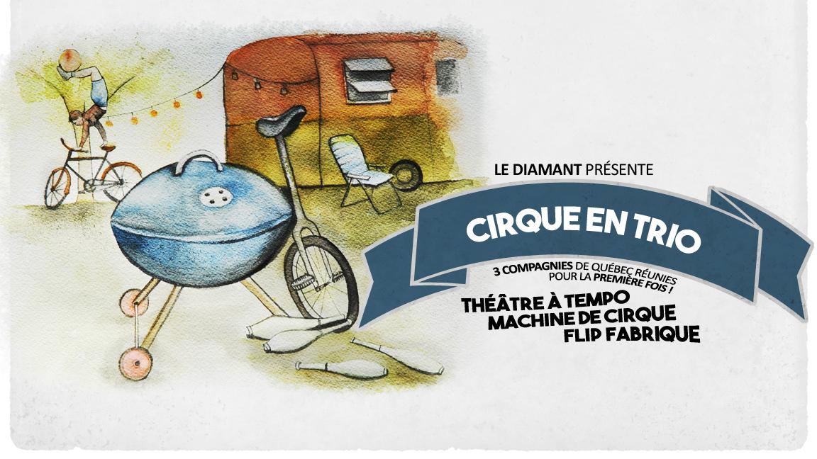 Cirque en trio - 3 représentations