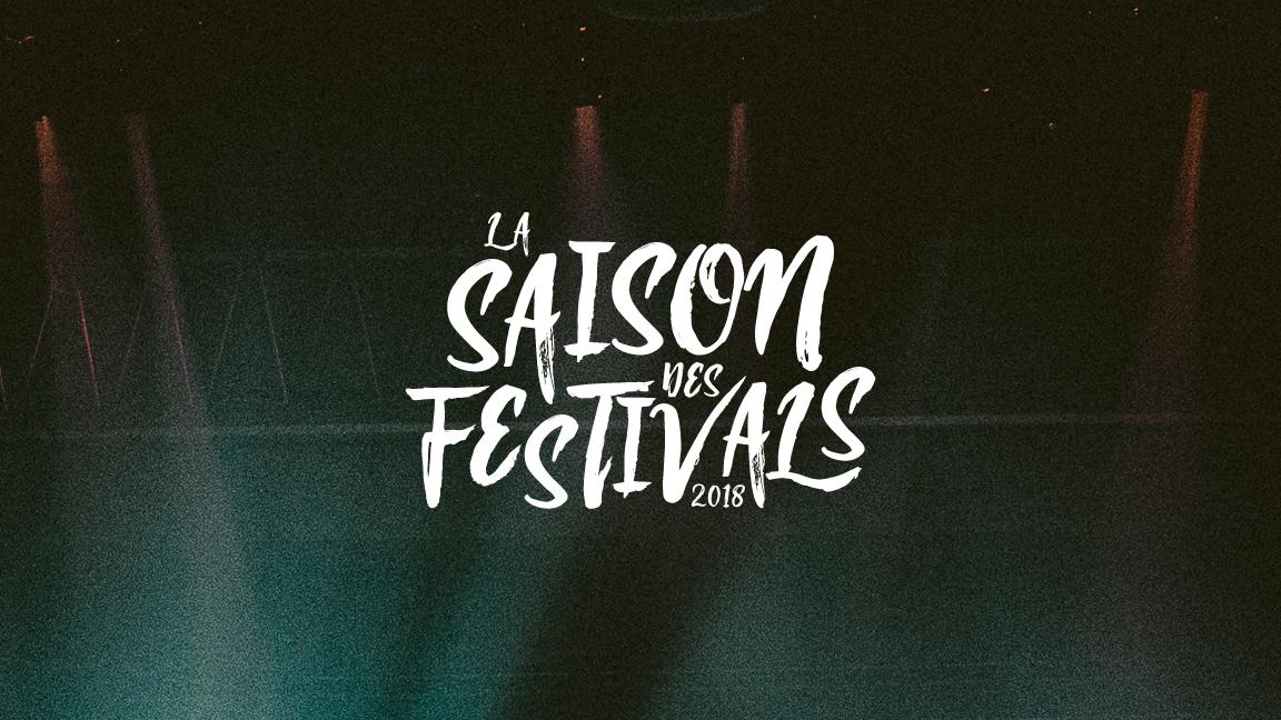 Saison des festivals - 2018