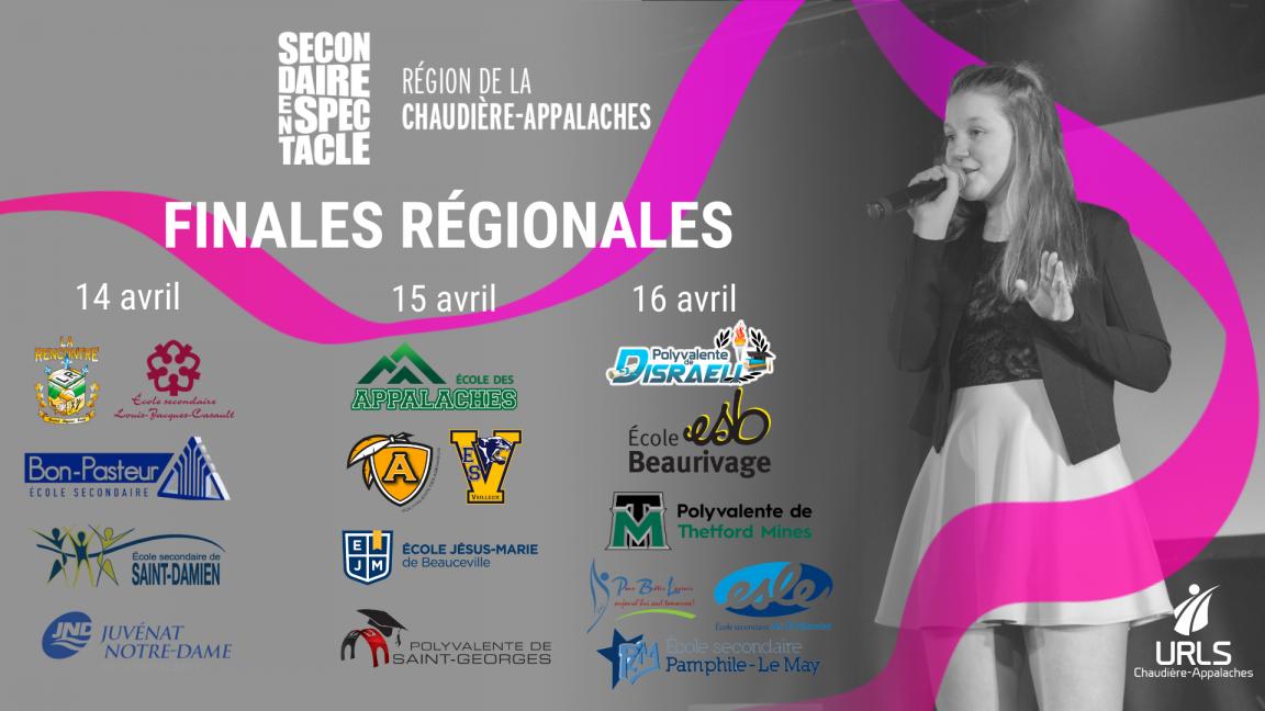 Finales régionales 2021 - Secondaire en spectacle Chaudière-Appalaches
