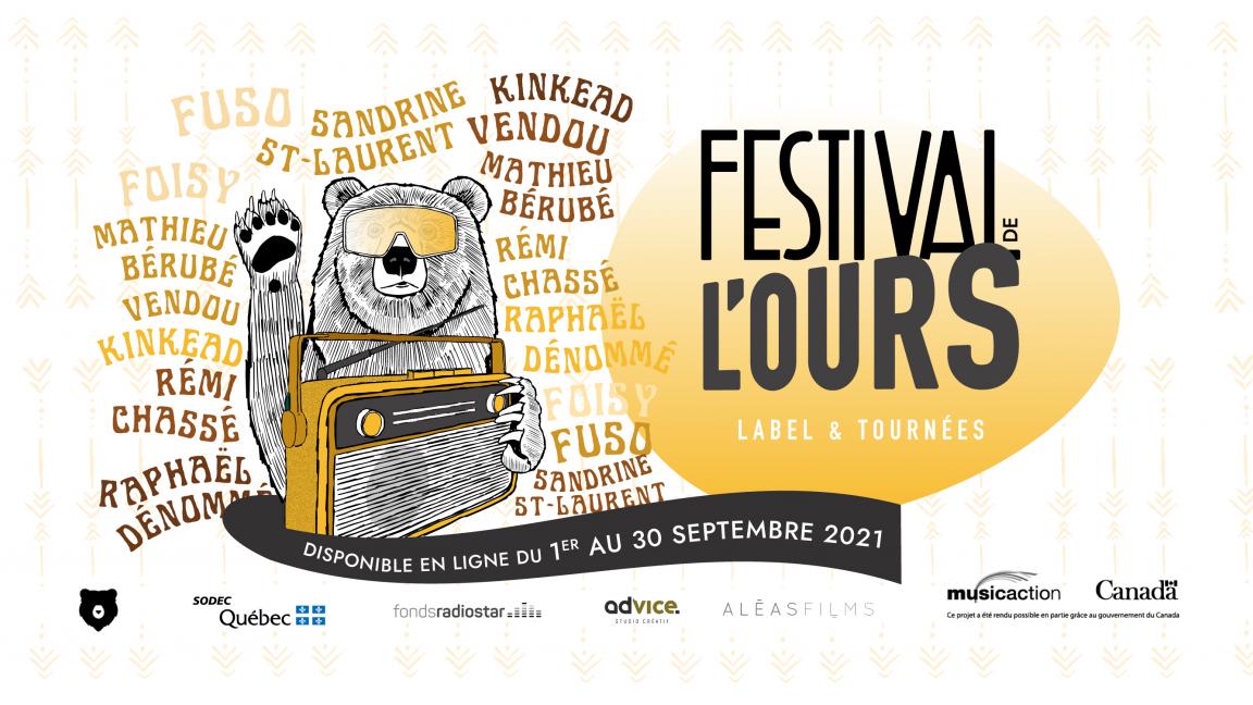Festival de L'Ours (Label & Tournées) - Série de concerts en webdiffusion