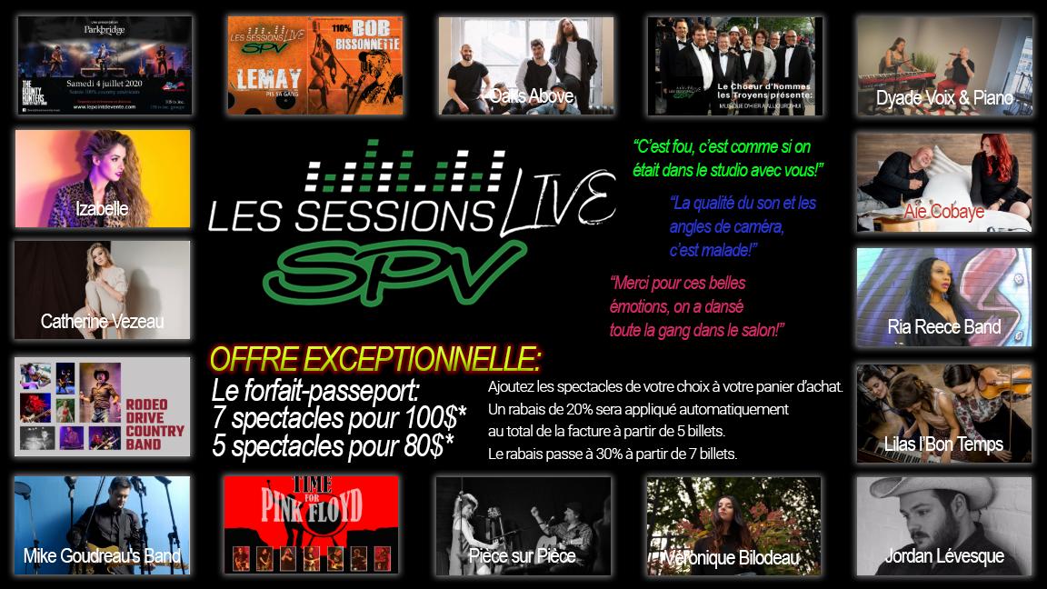 SPV Live Sessions reviendront en Février 2021