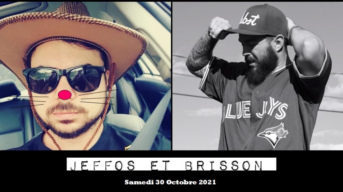 Soirée Halloween + Jeffos & Brisson