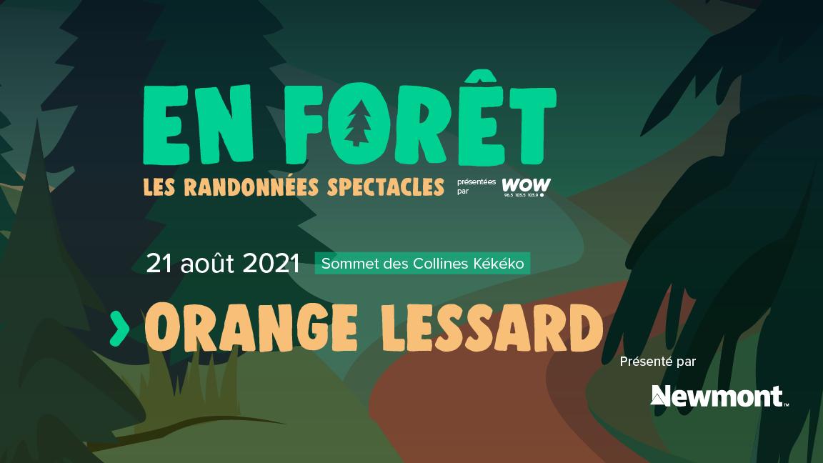 En Forêt : Orange Lessard
