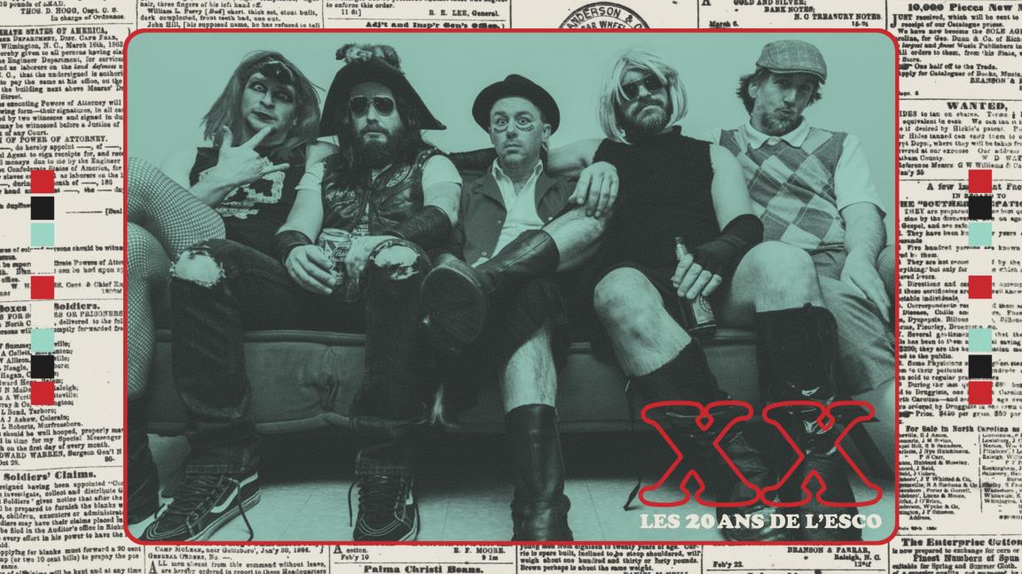 Les Goules - 20 ans de l'Esco