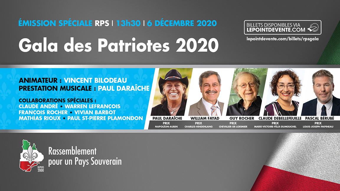 Gala des Patriotes 2020