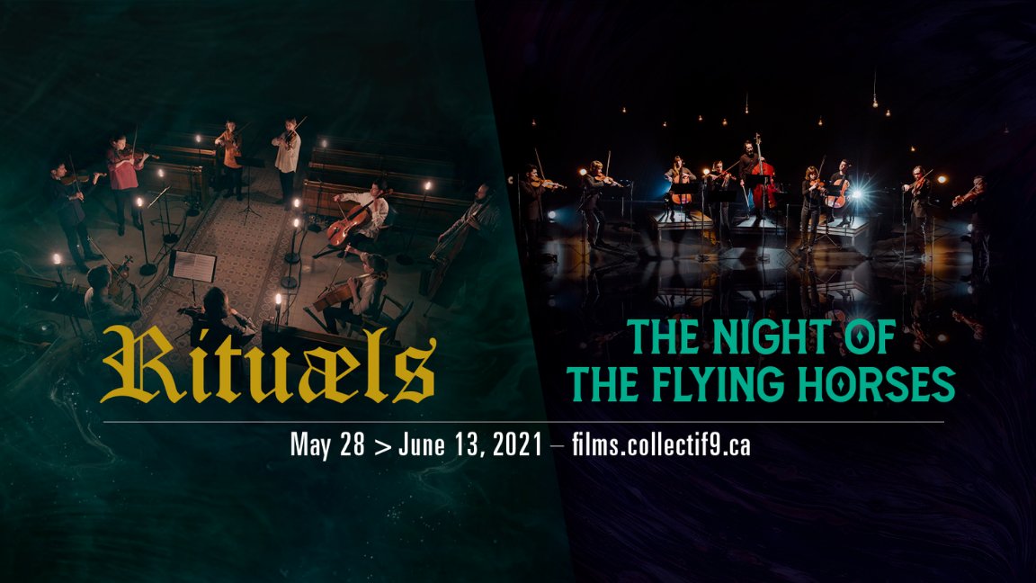 Video on demand - DUO Film-concert - Rituaels + The Night of the Flying Horses