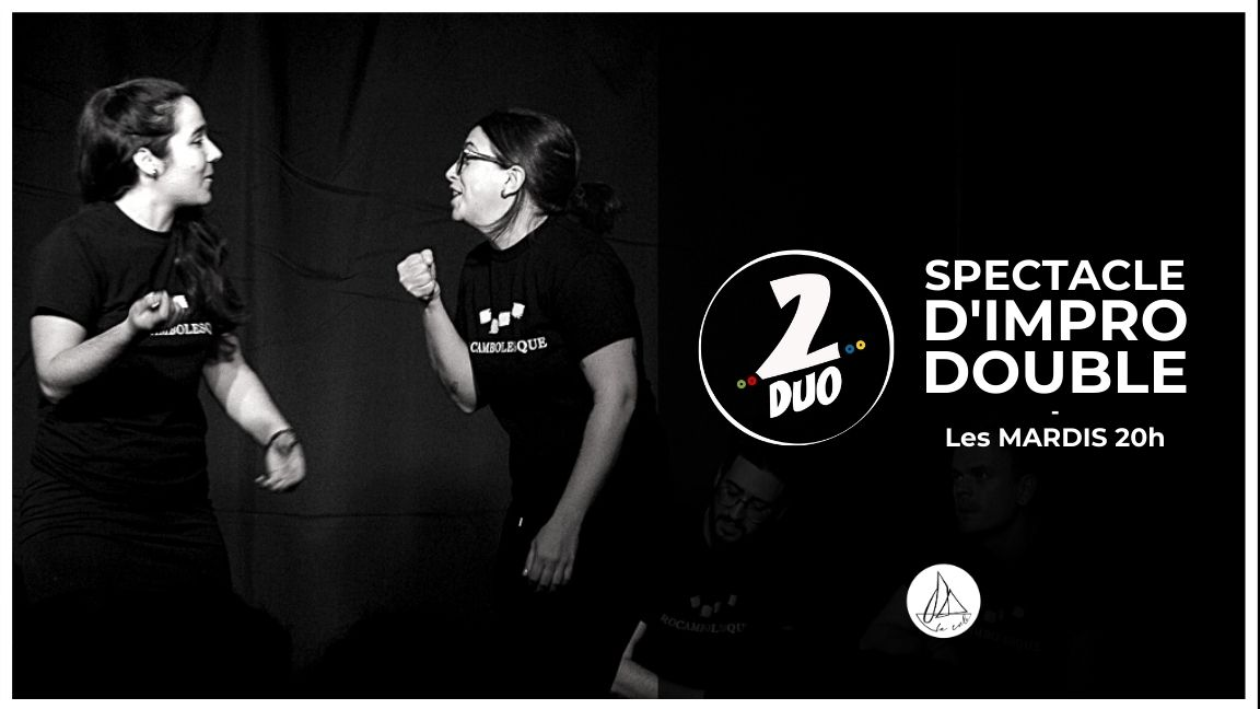 Impro 2DUO - Le spectacle doublement improvisé ! (22 septembre)