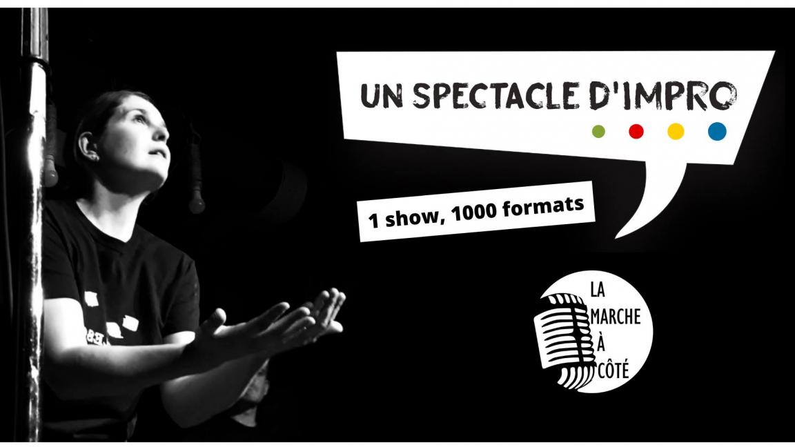 """Un Spectacle d'impro"" : une histoire de 60 minutes - La Rocambolesque (9 octobre)"