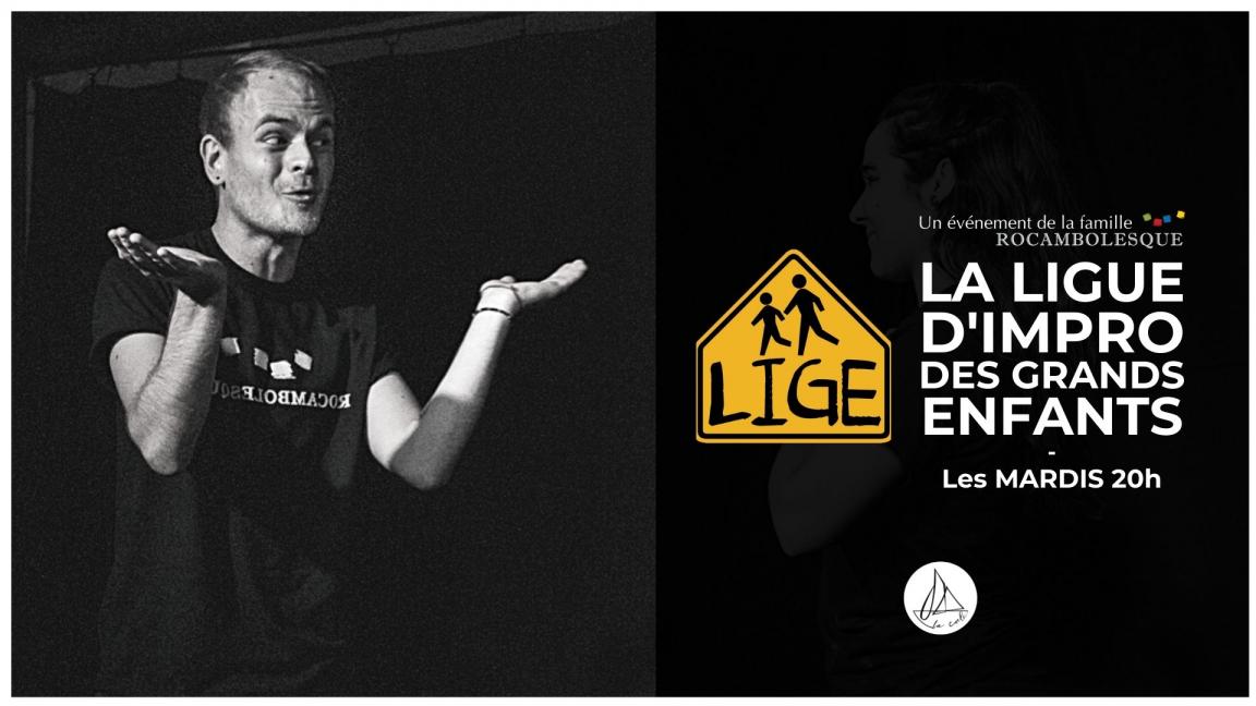 Impro LIGE - Spectacle de formation des équipes (9 novembre)