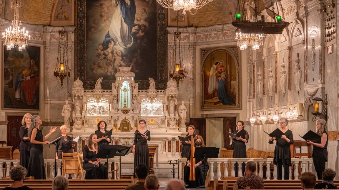 Concert FRAGMENTS : Musique sacrée anglaise, XIIIe-XIVe s. / Sacred English Music, 13th-14th c. (Rediffusion, dispo jusqu'au 27 juin / Rebroadcast, available until June 27)