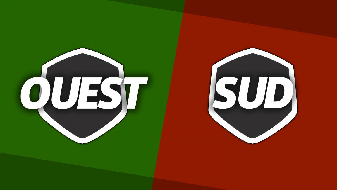 L'Ouest affronte le Sud