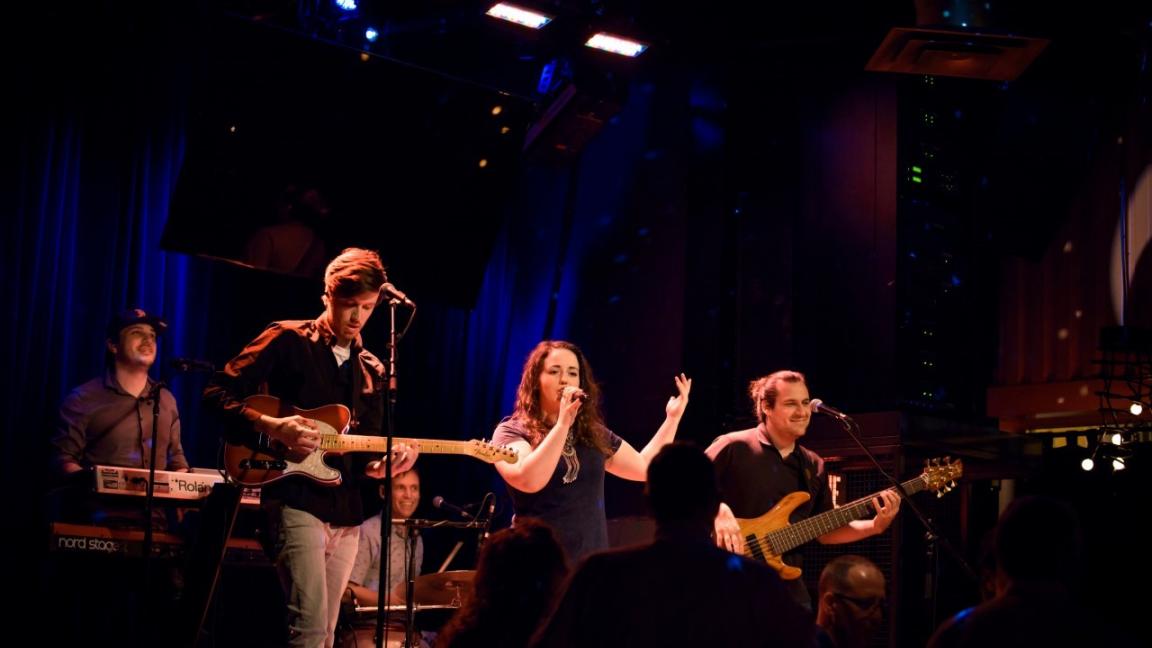 Concert bénéfice Fondation musique en tête (Funky Lamas Cover Band)