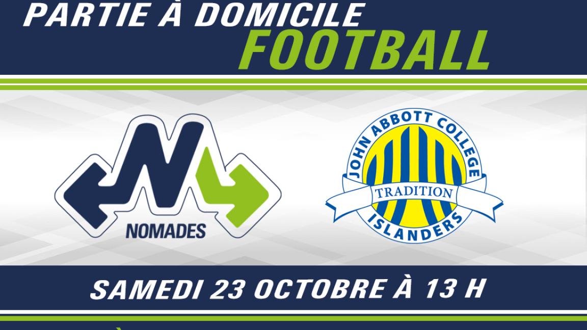 FOOTBALL - Montmorency c. John Abbott