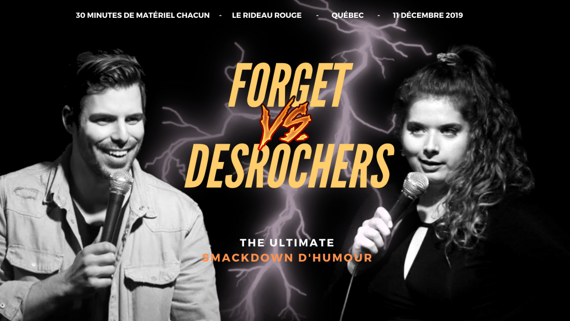 P-O Forget VS Michelle Desrochers - The Ultimate Smackdown