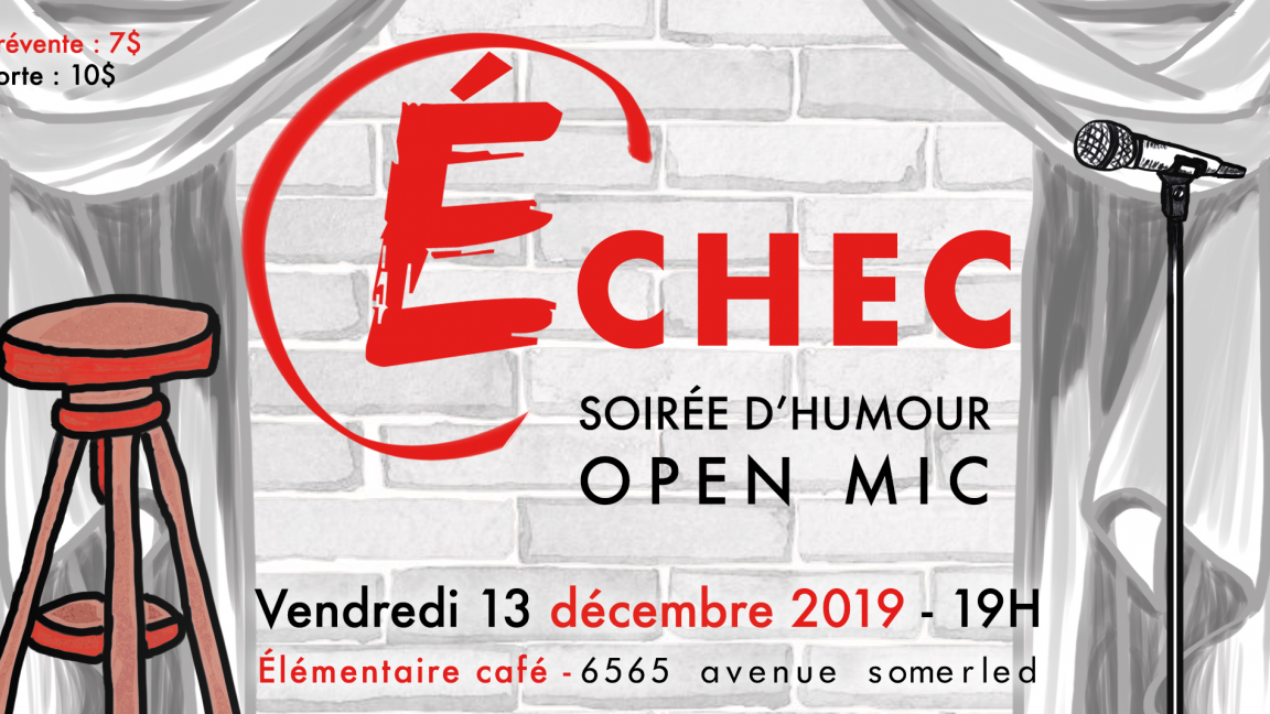 Open Mic Échec