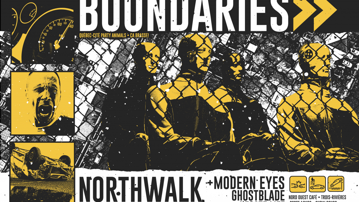Boundaries, Northwalk, Modern Eyes et Ghostblade