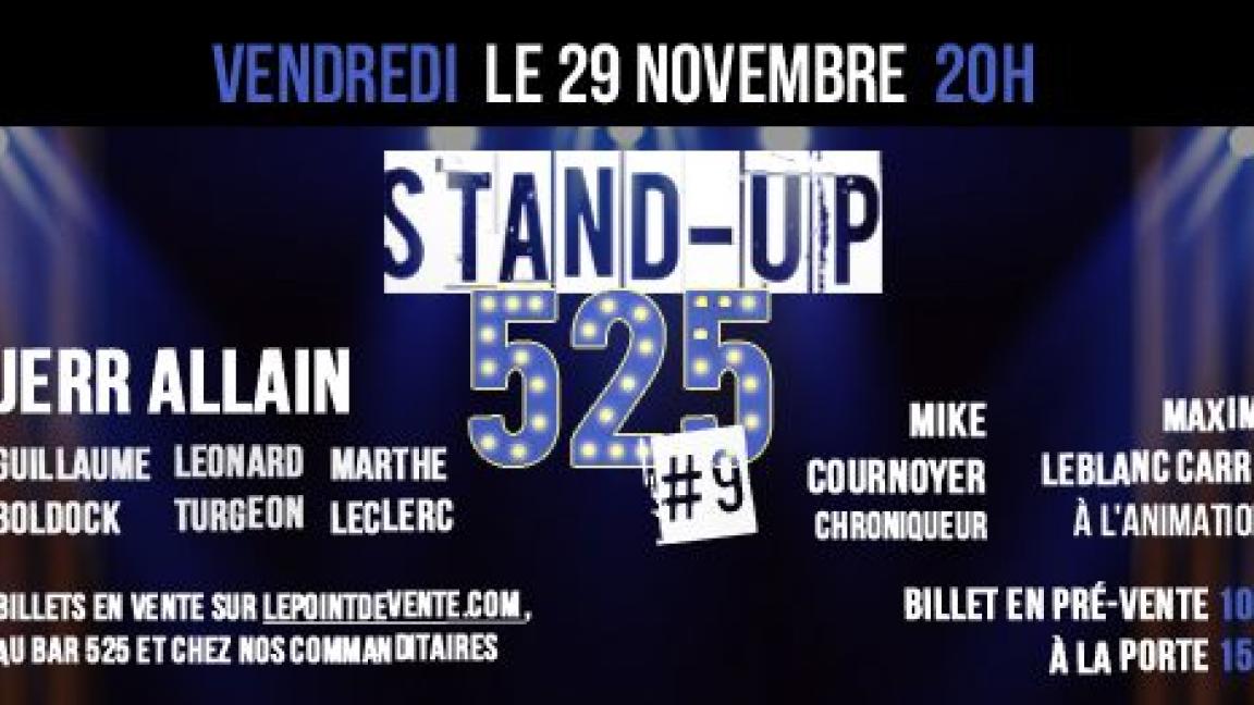 Soirée d'humour ''Stand Up 525'' #9