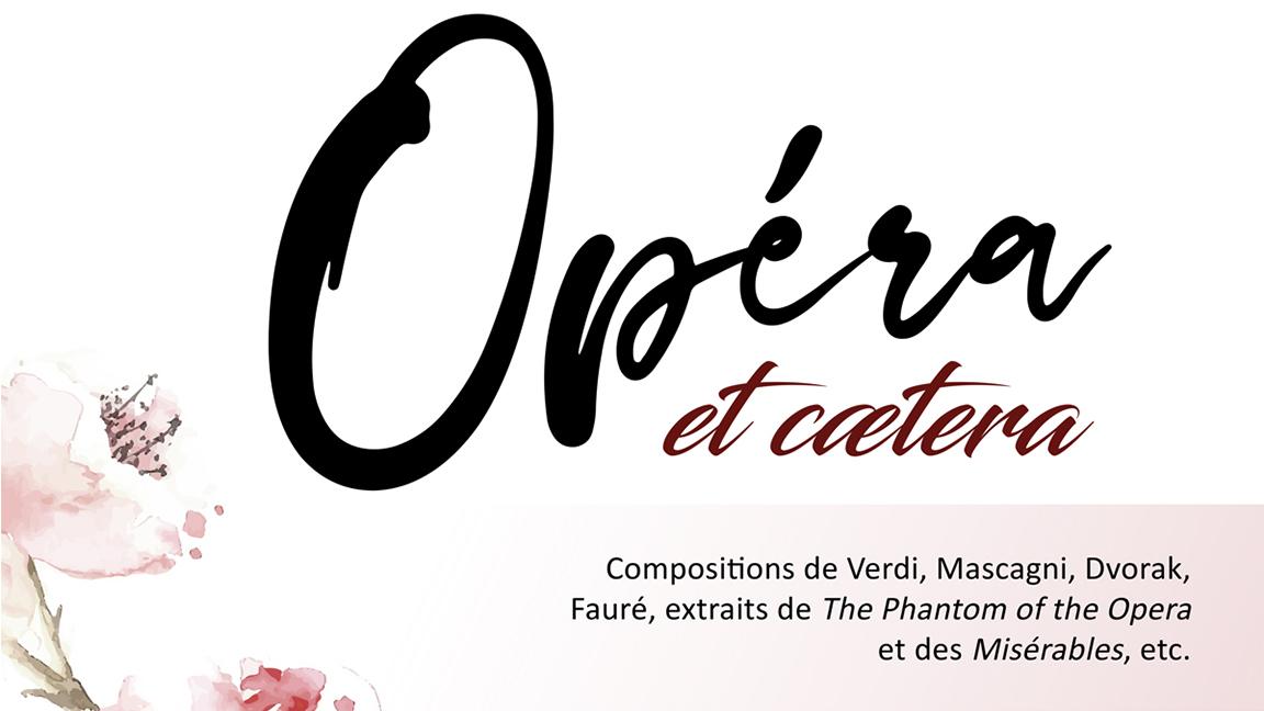 Opéra et caetera