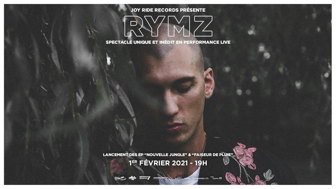 Rymz et invités en performance virtuel