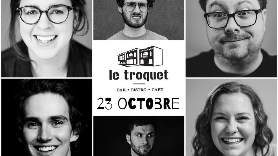 Humour au Troquet - 23 octobre