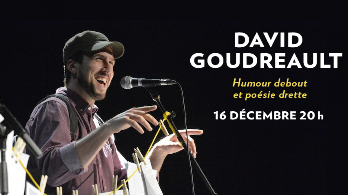 EN DIRECT | David Goudreault - Au bout de ta langue