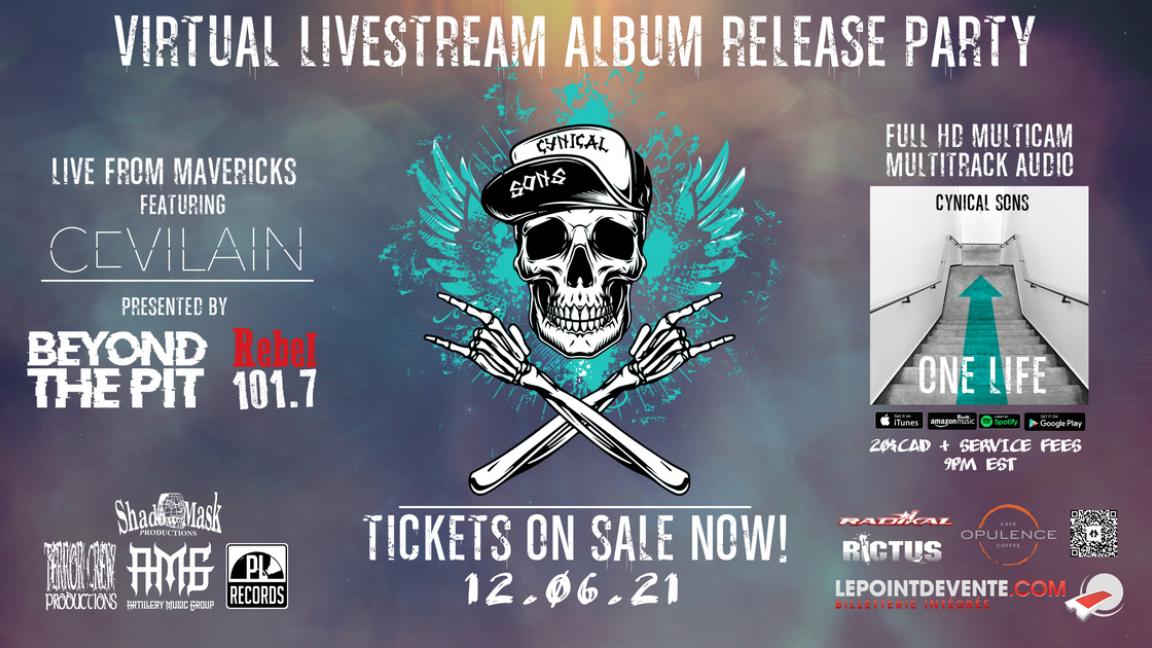 LIVESTREAM ALBUM RELEASE PARTY