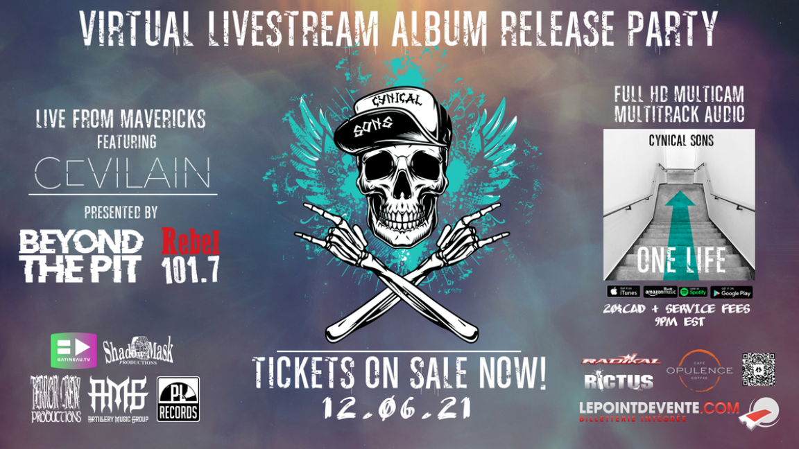 LIVESTREAM ALBUM RELEASE PARTY