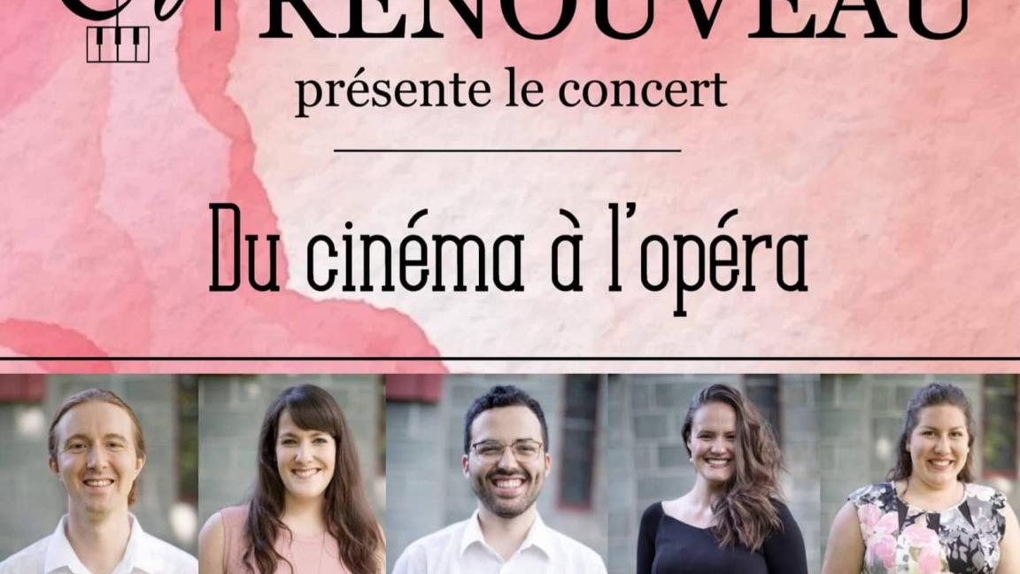 Du cinéma à l'opéra - Vauvert