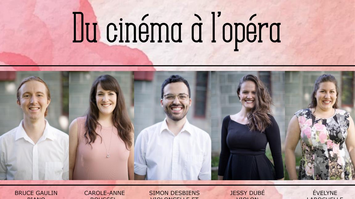 Du cinéma à l'opéra - Lac-Kénogami