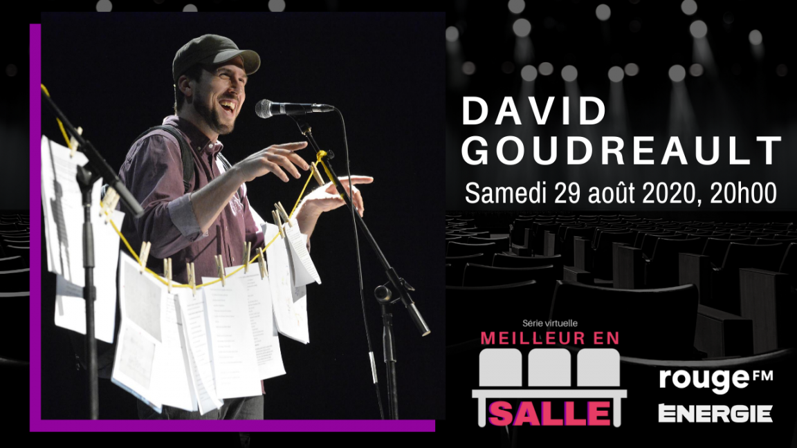 David Goudreault  |  Spectacle virtuel