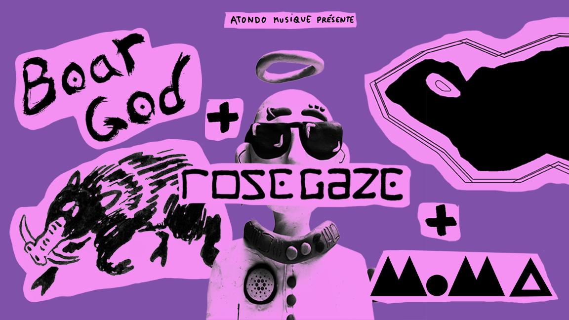 Moma   Rosegaze   Boar God