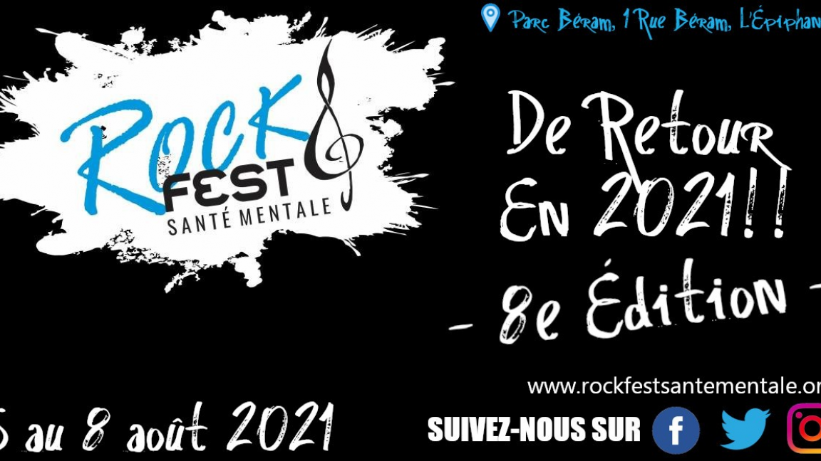 Rock Fest Pour La Santé Mentale 8e édition - Samedi