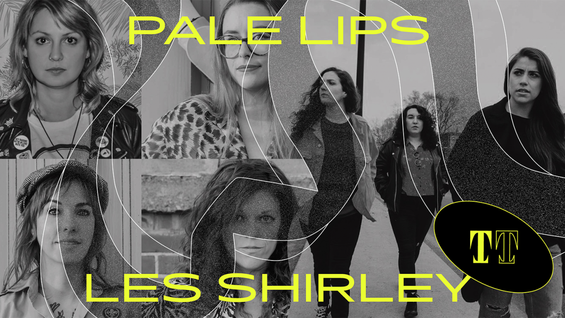 Pale Lips + Les Shirley