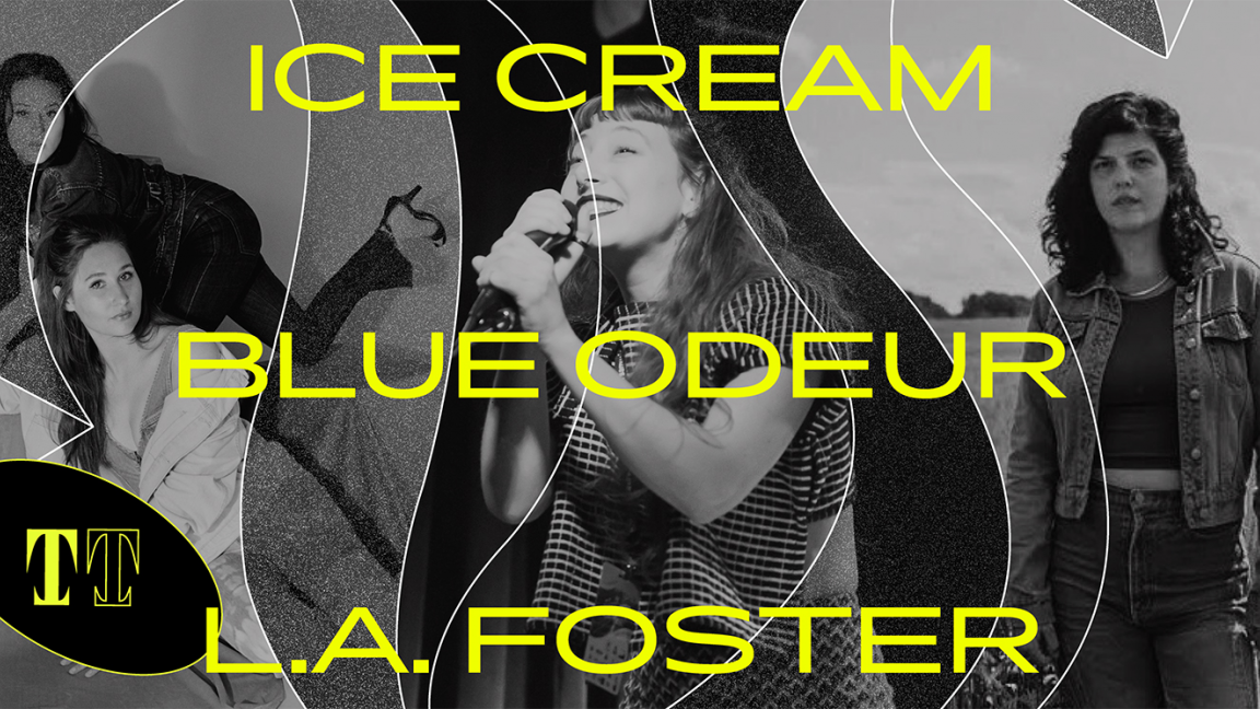 Ice Cream + Blue Odeur + L.A. Foster